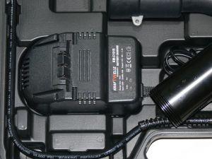 Elektická bateriová maznice,mazací pistole mazací lis kw c1019 kw 119c 2x kartuše kraftwelle