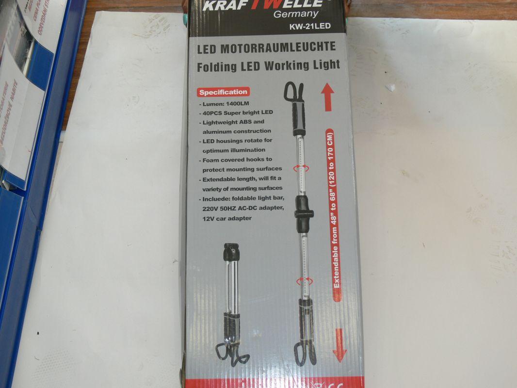Led lampa nad motor KW 21LED