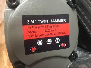 "Pneumatický utahovák 3/4"" 2000Nm 69A kraftwelle"