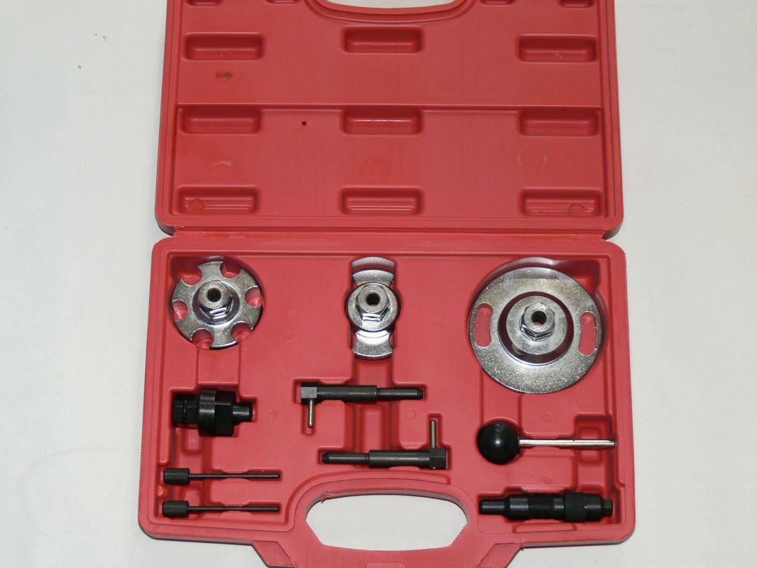 Aretační sada určená pro motory VAG 2,7/3,0 TDi V6 a 4,0/4,2 Tdi V8. Motory s rozvodovým řetězem. Určeno pro vozy: VW Phaeton , Touareg. Audi A4, A5, A6, A6 Allroad, A8, Q5, Q7. Kraftwelle