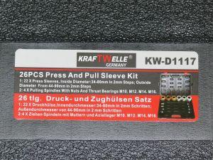 Sada UNI pro vylisování a nalisování silentbloku 26 dílů KW D1117