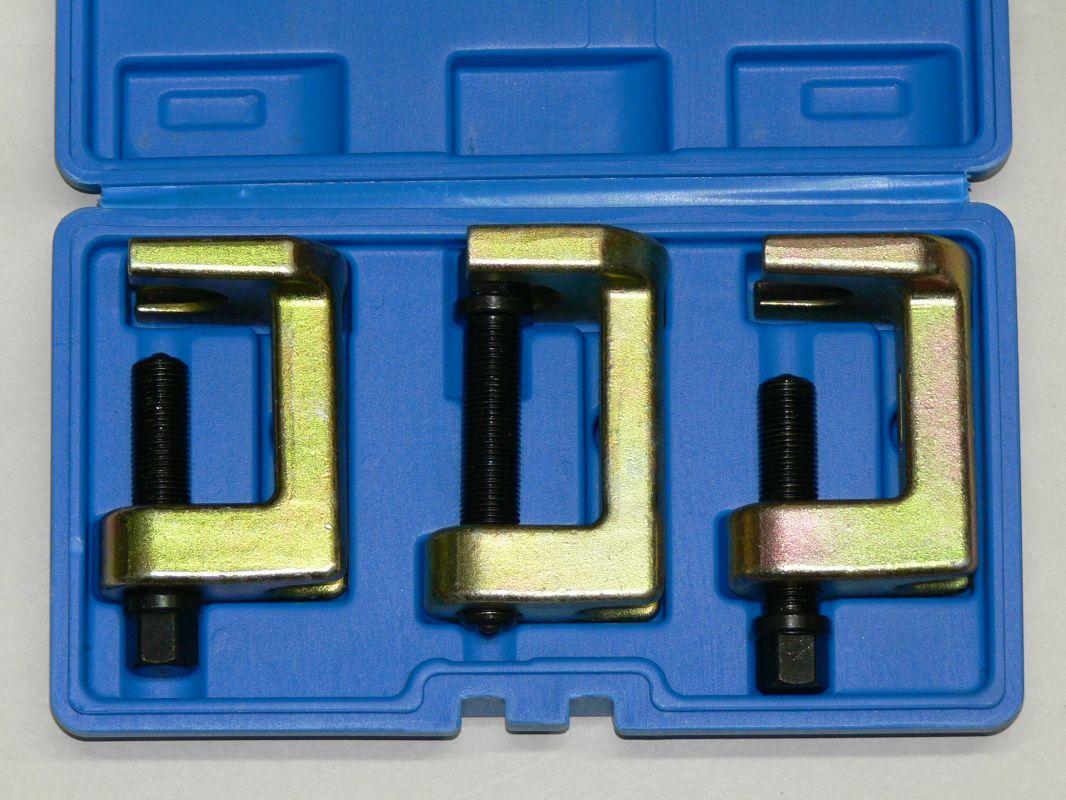 Stahováky na spodní svislé čepy 3ks KW B1036-FTXC6013