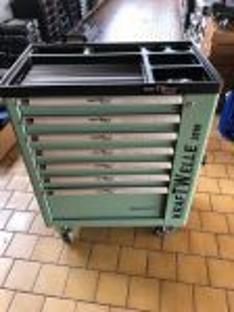 Dílenský vozík KraftWelle včetně nářadí 6 šuplíku vybavených