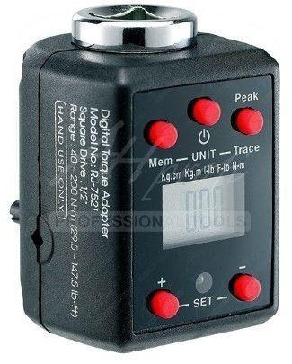 Zvuková a optická signalizace dosaženého točivého momentu. ENERGY