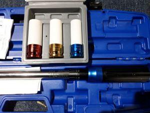 """Momentový klíč KRAFT 1/2 """"210Nm VČETNĚořechů 17 19 21mm kraftwelle"""