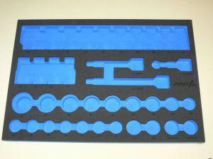 Prázdná výplň-velká sada-ořechy,nástrčný klíč dlouhý,krátký pěna  APF 37