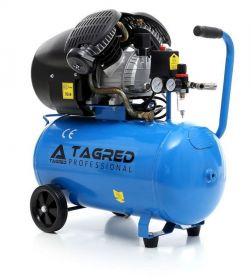 Dvoupístový olejový kompresor s tlakovou nádobou 50L