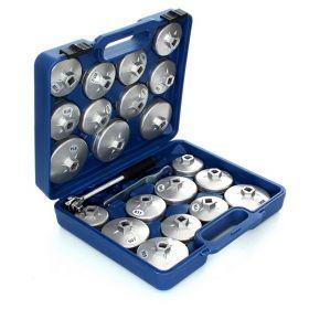 Klíče na olejové filtry  sada  23 prvků FT770723 s ráčnou 1/2 f05112