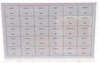 Měděné podložky 300 ks FT016003 ta1401 TAGRED