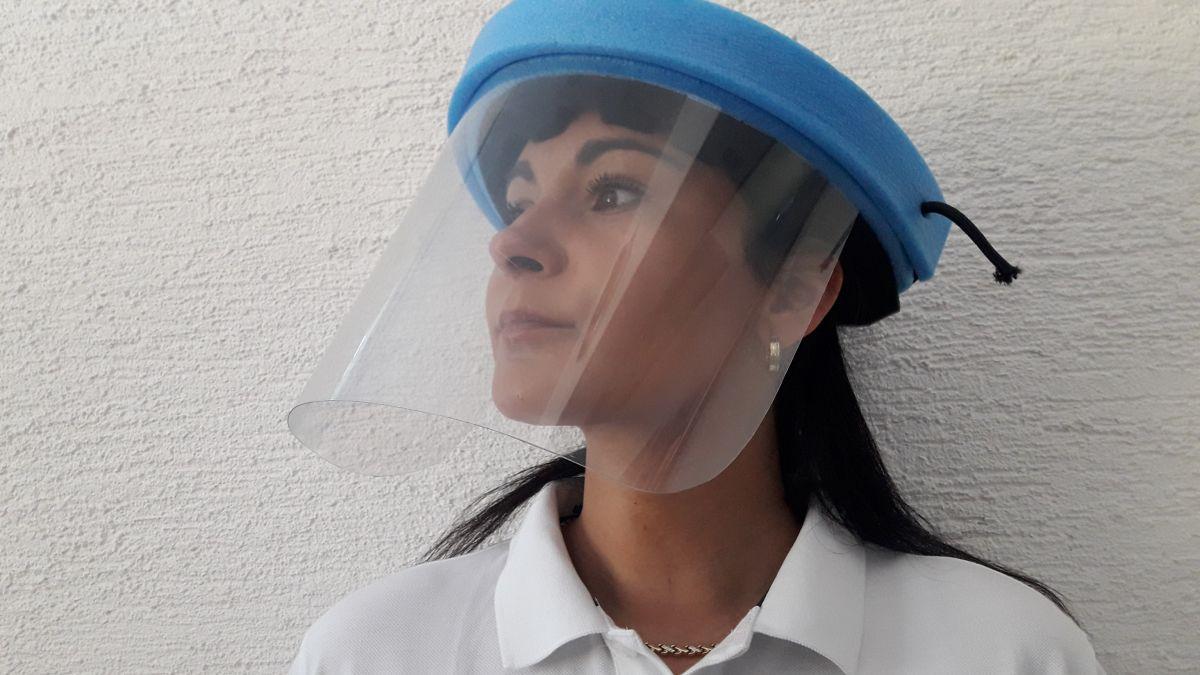 Ochranné pomůcky,obličejový štít