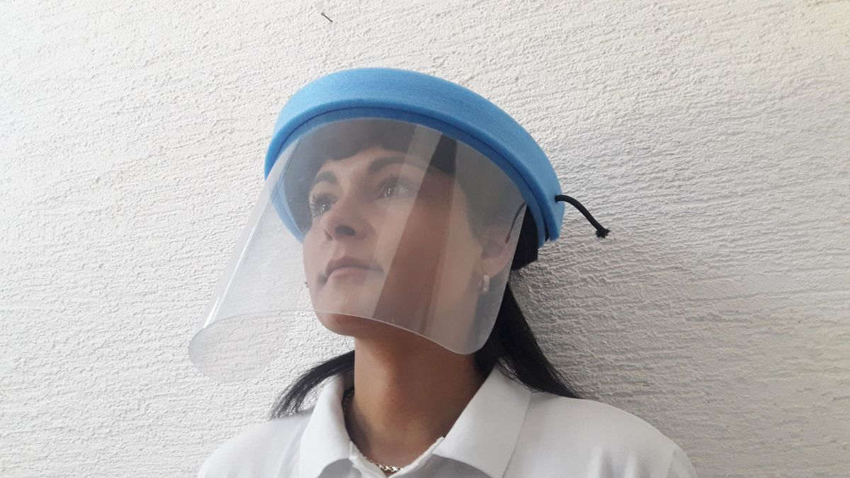 Obličejový štít s odvětráváním KANY