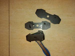 Ráčnový klíč na zatlačení dvojtých brzdových válečků pístků ASTA