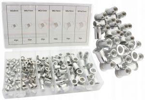 Sada hliníkových nýtovacích matic 150 ks f01068