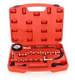 Tester pro měření kompresního tlaku v dieselových naftových válcích FT284