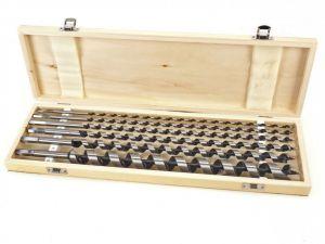 Vrtáky do dřeva délka 460 mm Sada vrtáků 6–25 mm 6ks